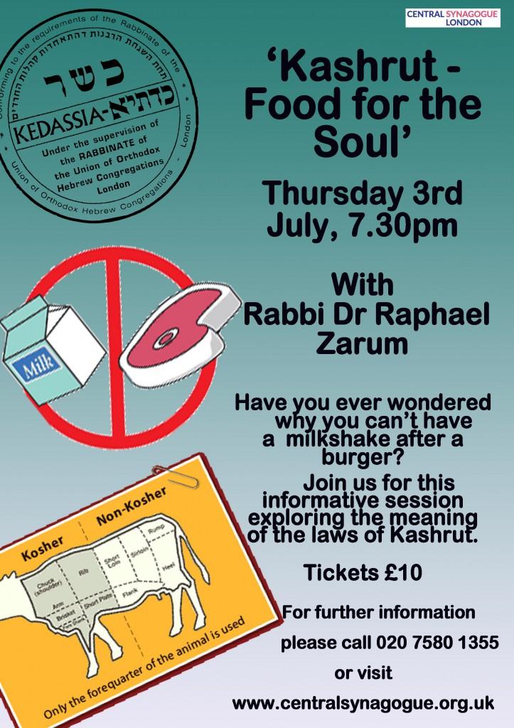 Kosher flyer copy